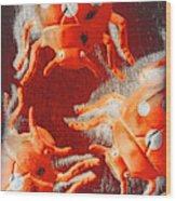 Art Deco Bug Wood Print