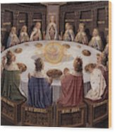 Arthurian Legend, The Knights Of The Round Table Wood Print
