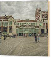 Asbury Park Convention Hall Wood Print