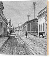Asuncion, Paraguay, 1895 Wood Print