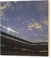 Athletics V Orioles Wood Print