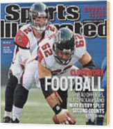 Atlanta Falcons V New York Giants Sports Illustrated Cover Wood Print