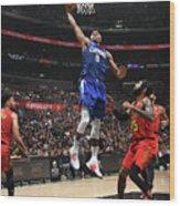 Atlanta Hawks V La Clippers Wood Print