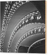 Auditorium Theater In Chicago Wood Print