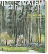 Augusta National Golf Course, 1960 Masters Preview Sports Illustrated Cover Wood Print