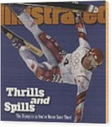 Austria Herman Maier, 1998 Winter Olympics Sports Illustrated Cover Wood Print