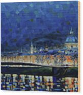 Austrian Nights Wood Print