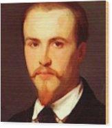 Autoportrait Wood Print