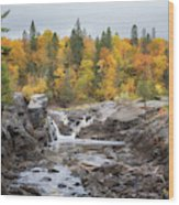 Autumn at Jay Cooke State Park Wood Print