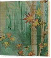 Autumn Leaves - #1 Wood Print