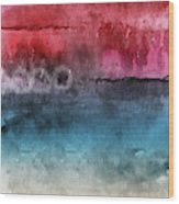 Awakened 4-  Abstract Art By Linda Woods Wood Print
