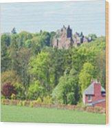 Ayton Castle Wood Print
