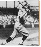 Babe Ruth 1921 Wood Print