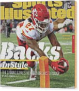 Backs In Style The Ground Games Next Gen Breaks Through Sports Illustrated Cover Wood Print