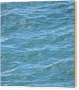 Bahamas Blue Wood Print