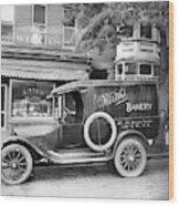 Bakery Car, C1915 Wood Print