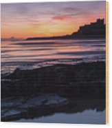 Bamburgh Castle Bam0031 Wood Print