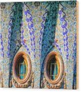 Barcelona Mosaic  Wood Print
