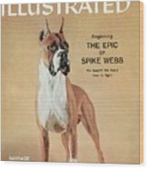 Barrage Of Quality Hill, 1955 Westminster Kennel Club Dog Sports Illustrated Cover Wood Print
