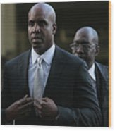 Barry Bonds Perjury Trial Begins In San Wood Print