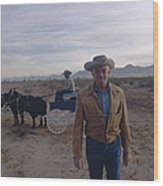 Barry Goldwater Wood Print