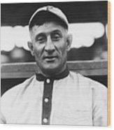 Baseball Player Honus Wagner Wood Print