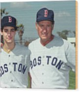 Baseball - Ted Williams - File Photo Wood Print