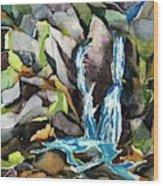Bash Bish Falls - 3 Wood Print