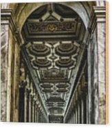 Basilica Papale Di San Paolo Fuori Le Mura Wood Print