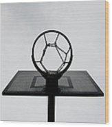 Basketball Hoop Wood Print