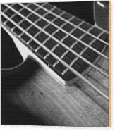 Bass Guitar Musician Player Metal Rock Body Wood Print