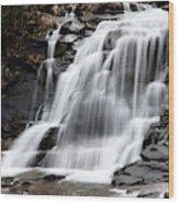 Bastion Falls Wood Print