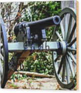 Battery D, Fifth United States Artillery Wood Print