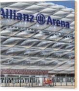 Allianz Arena Bayern Munich  Wood Print