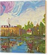 Bayou Saint John One Wood Print