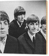 Beatles At The Bbc Wood Print