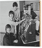 Beatles In Vegas Wood Print