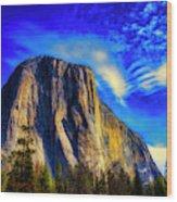 Beautiful El Capitan Wood Print
