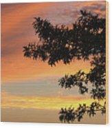 Beautiful Sunset Wood Print