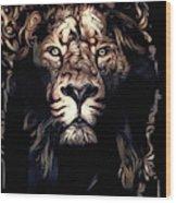 Beauty's Beast Wood Print