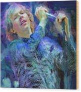 Beck Singer Songwriter Wood Print