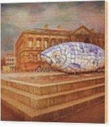 Belfast Big Fish Wood Print