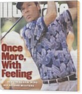 Ben Crenshaw, 1995 Masters Sports Illustrated Cover Wood Print