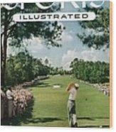 Ben Hogan, 1954 Masters Tournament Sports Illustrated Cover Wood Print