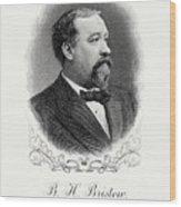 Benjamin Bristow Wood Print