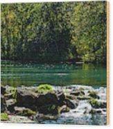 Bennett Springs Wood Print