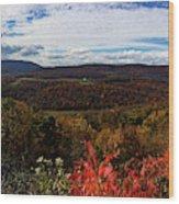Berkeley Springs Overlook Wood Print
