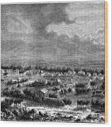 Berkly Or Klipdrift, A Town Wood Print