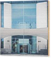Berlin - Bundeskanzleramt Wood Print