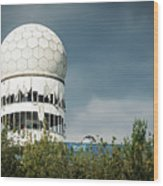 Berlin - Teufelsberg Listening Station Wood Print
